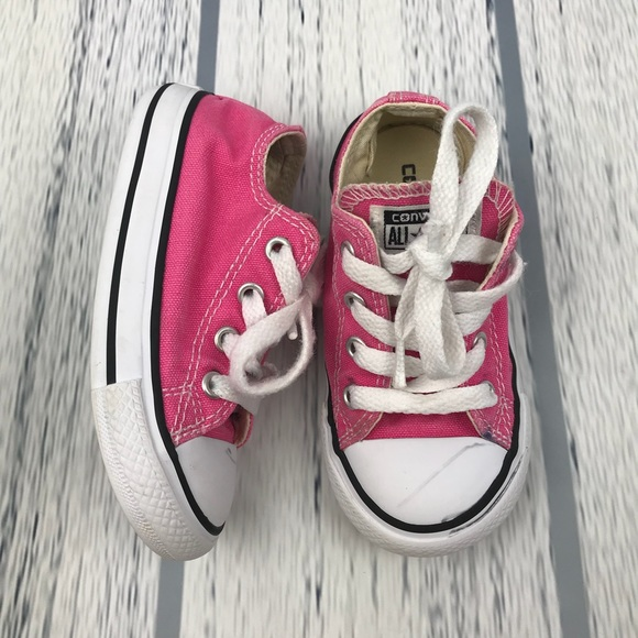 740bcd173942 Converse Other - Toddler girls pink converse sz 7